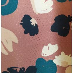 """Tissu viscose """"Posie Chestnut"""" x 50cm"""