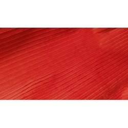 Velours côtelé terracotta x 50cm