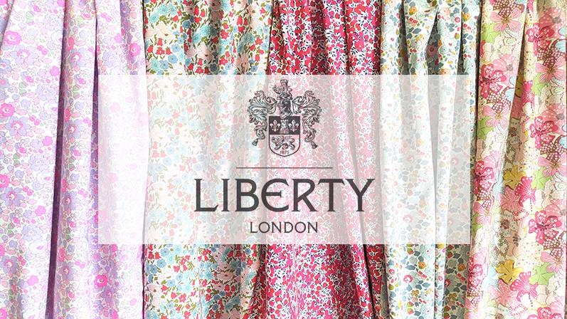 Tous les tissus Liberty à petit prix sur notre e-shop